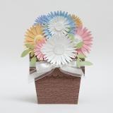 Daisy Flower Card in Pot