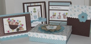 May Flowers Stamp Camp