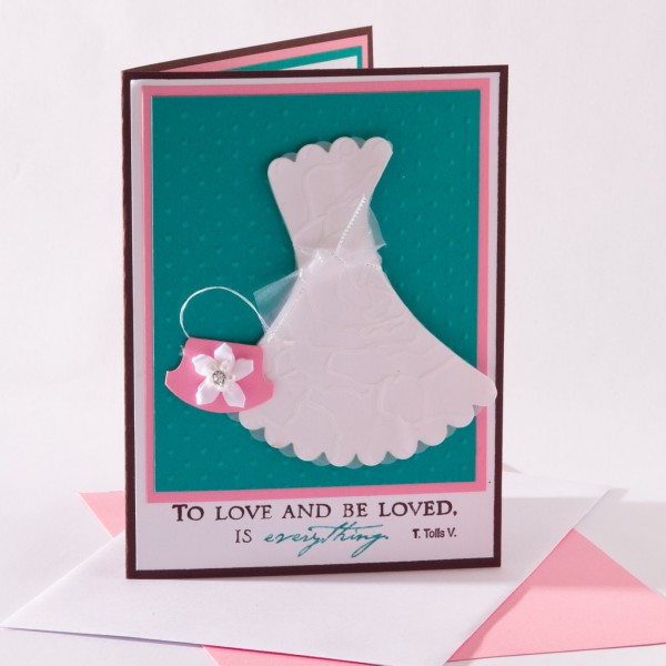 Bridal Shower Invitations from Stampin Up - BrandysCards.com