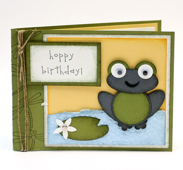 Stampin Up TOADally Cute!!!