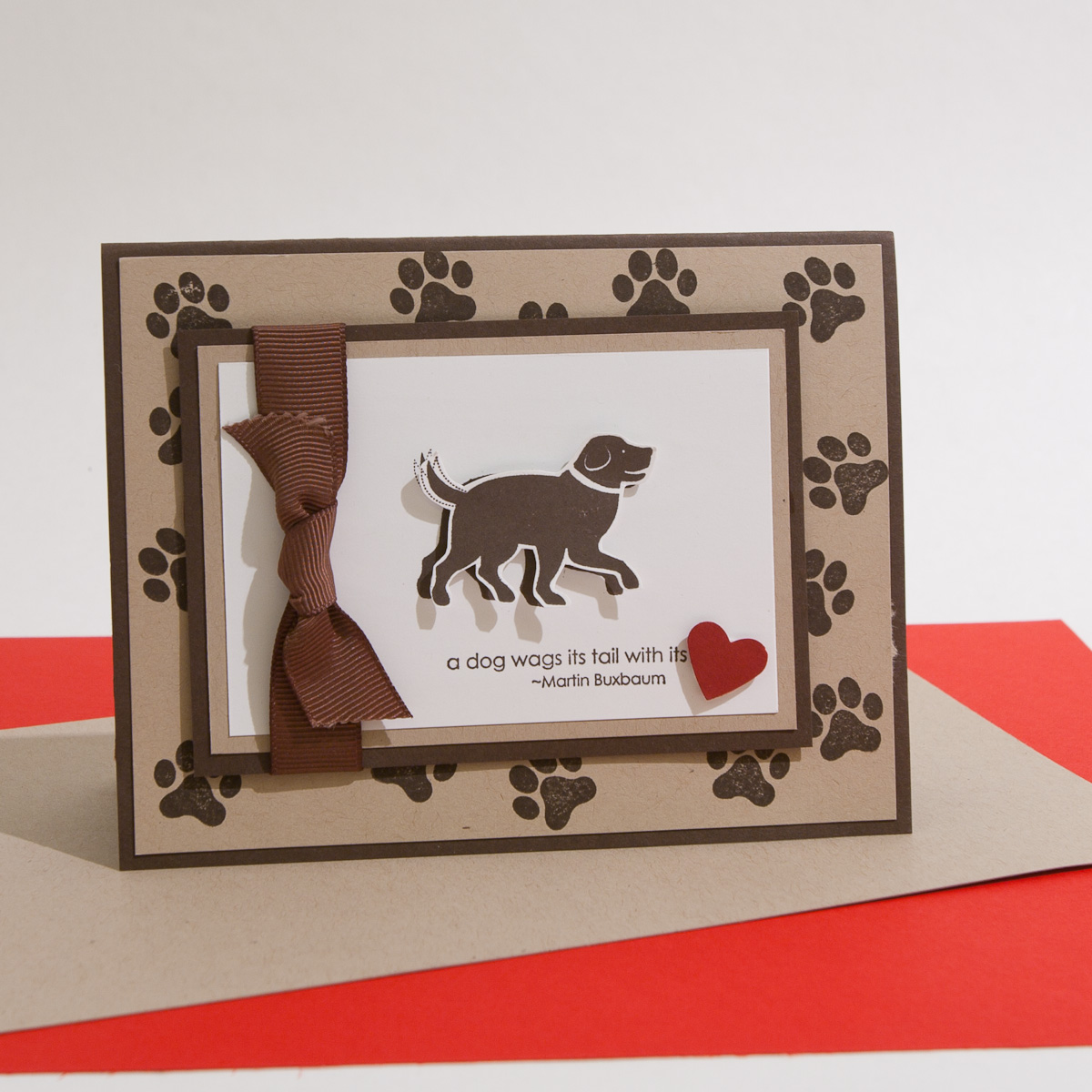 Stampin Up Demonstrator Brandy Cox Shares A Card Made