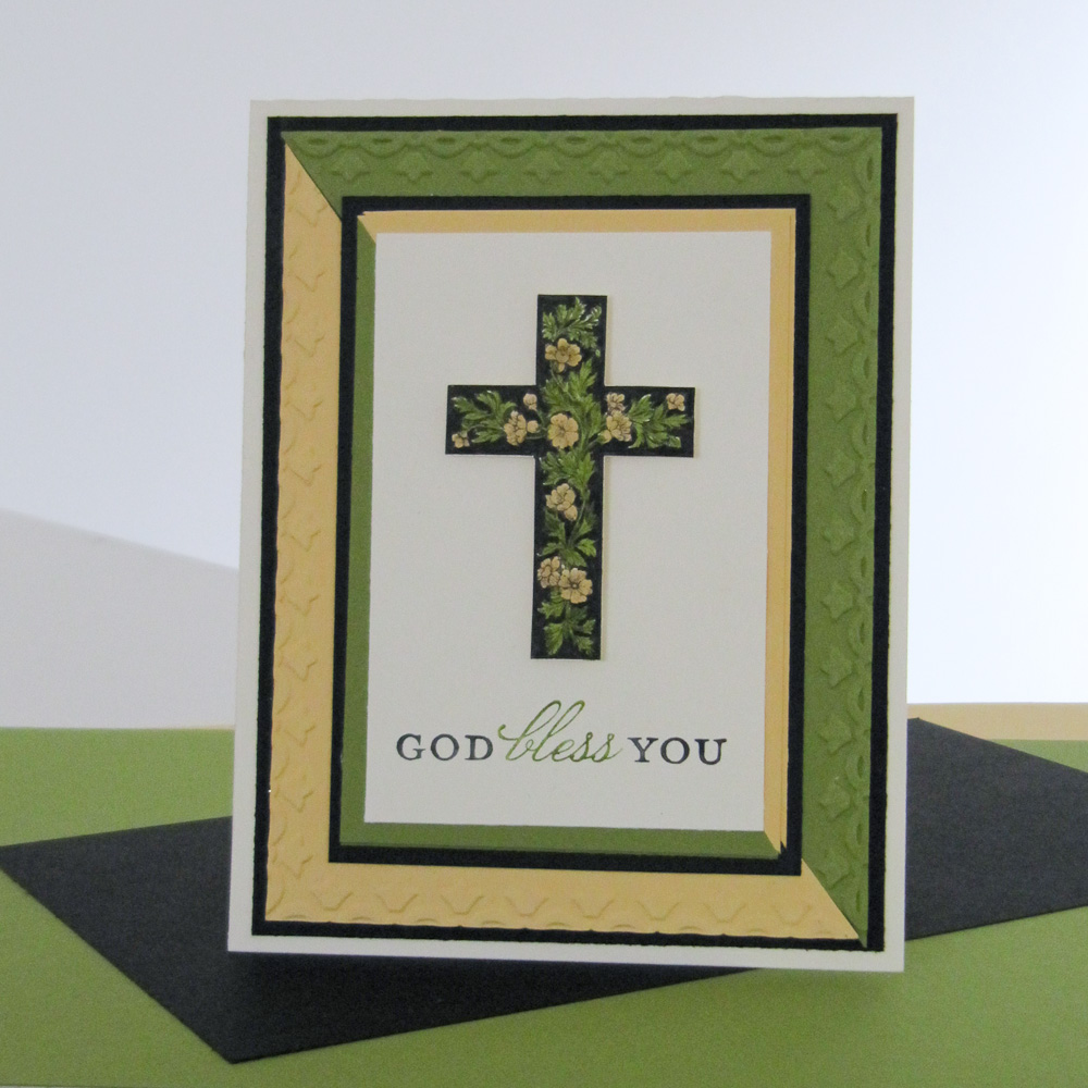 Stampin Up Crosses Of Hope Stamp Set From Brandyscards Com