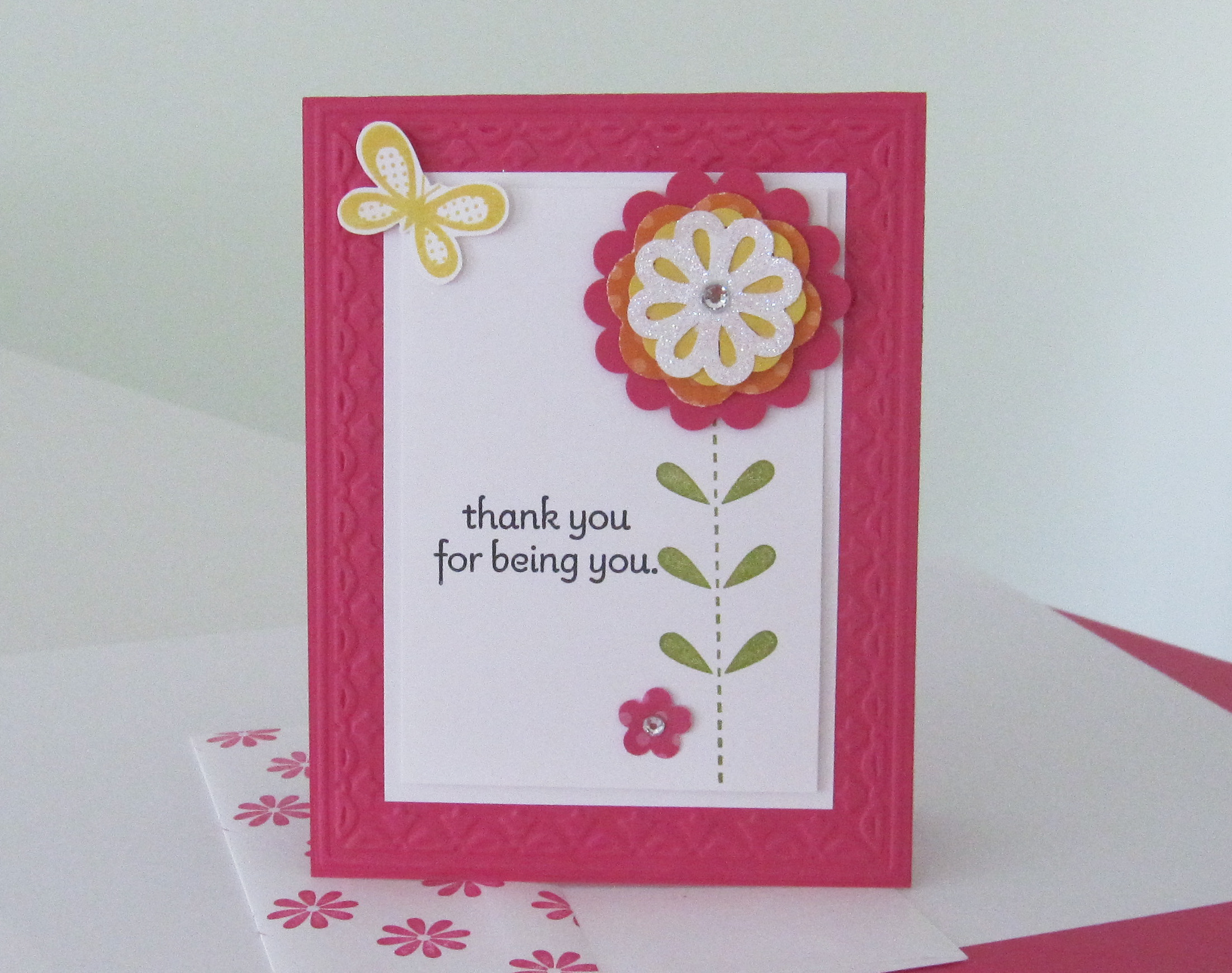Bold Blossom Stamp Set Blossom Bouquet Triple Layer Punch