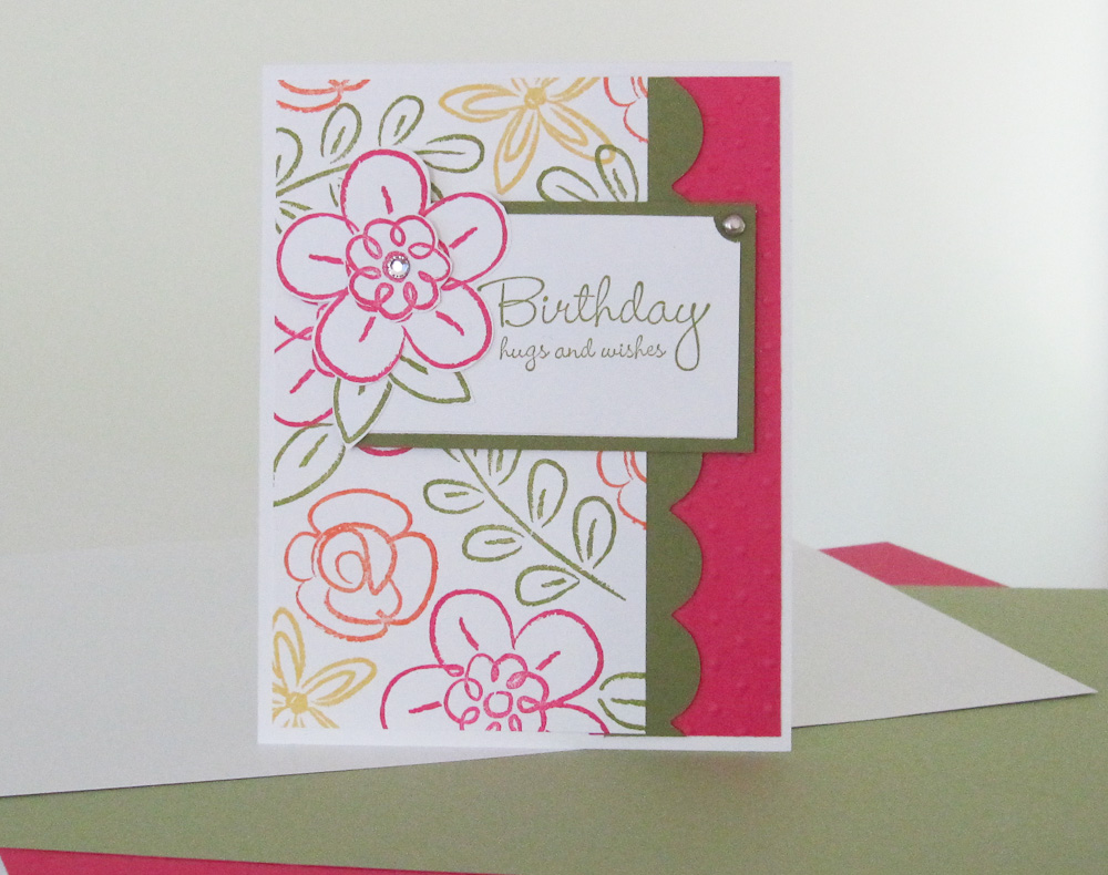 brandyscards com features the stampin up flowers fest