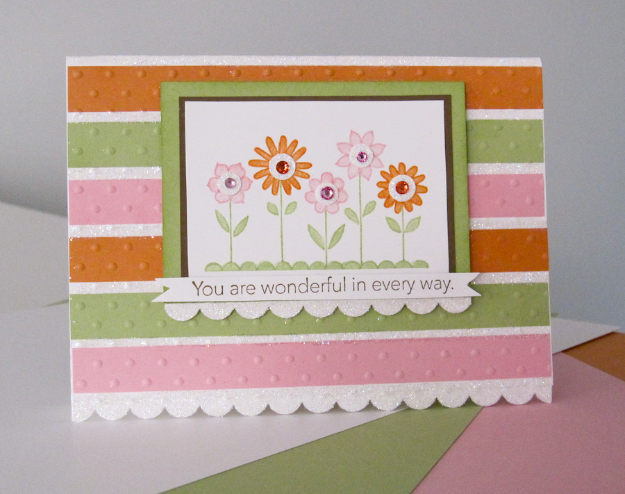Stampin up hello blossoms stamp set for Stampin pretty craft room