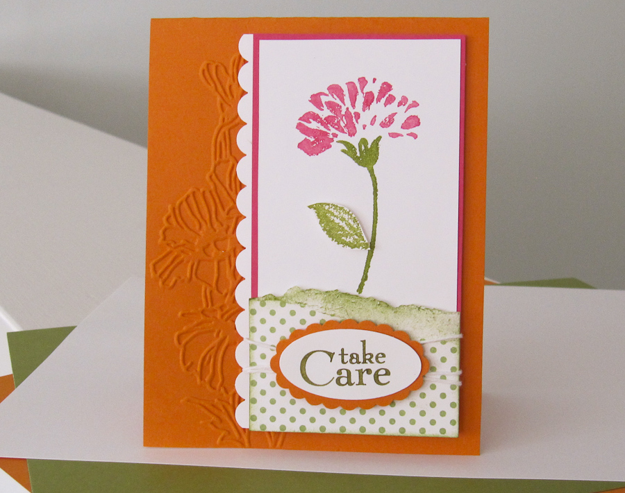 Stampin Up Love And Care Hostess Stamp Set