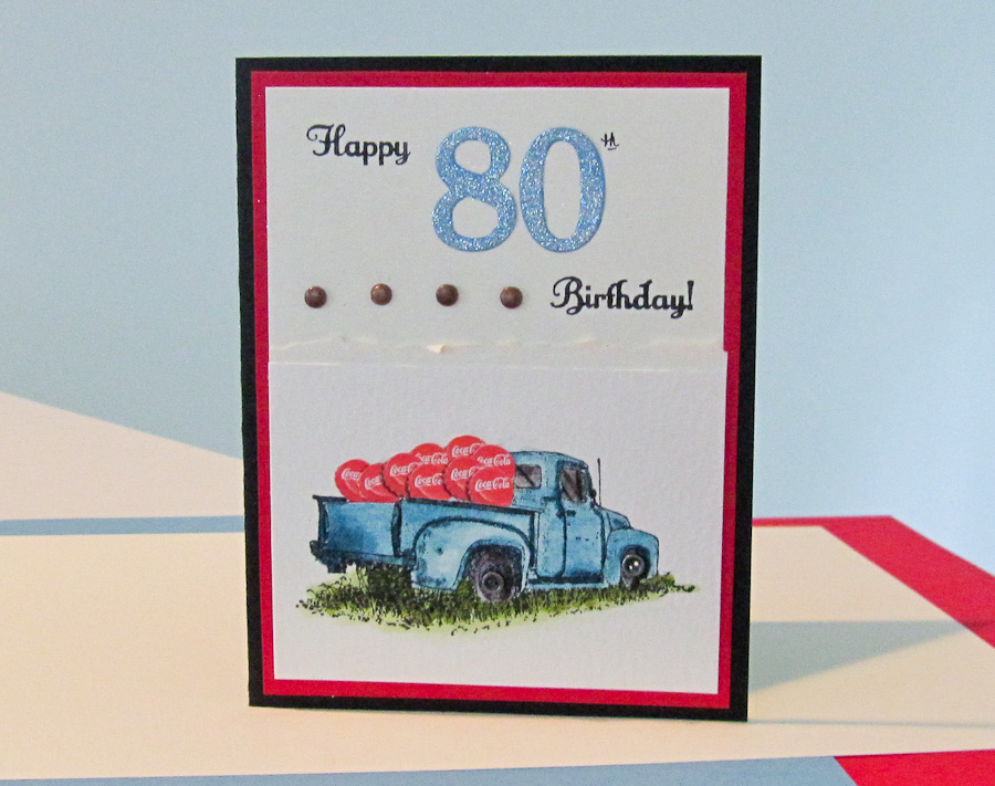 Stampin up card ideas birthday special occasions countryside stamp set with a coca cola flair fun card ideas stampin up birthday bookmarktalkfo Gallery