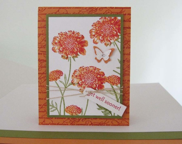 Stampin Up Field Flowers