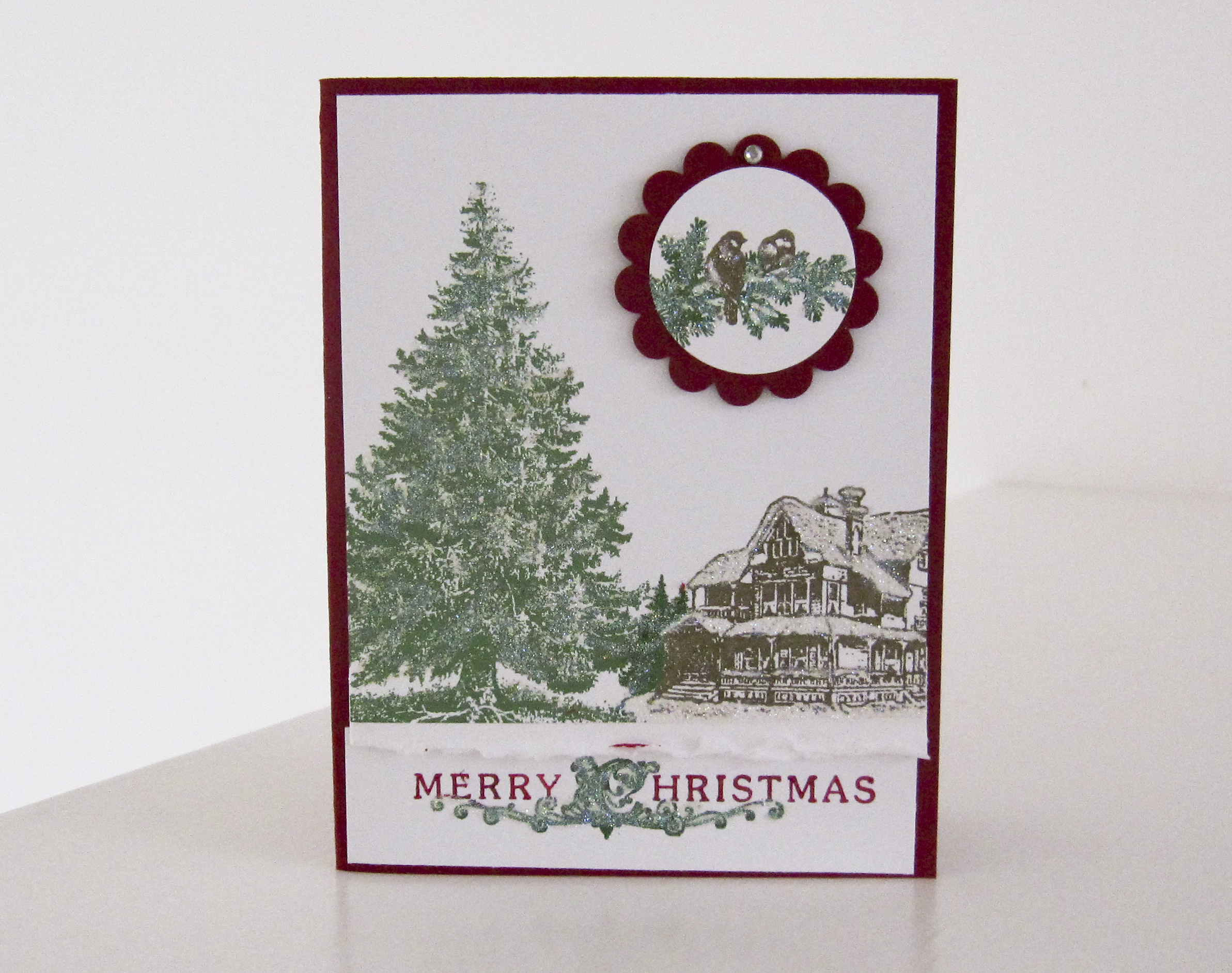 Stampin Up Christmas Lodge Stamp Set