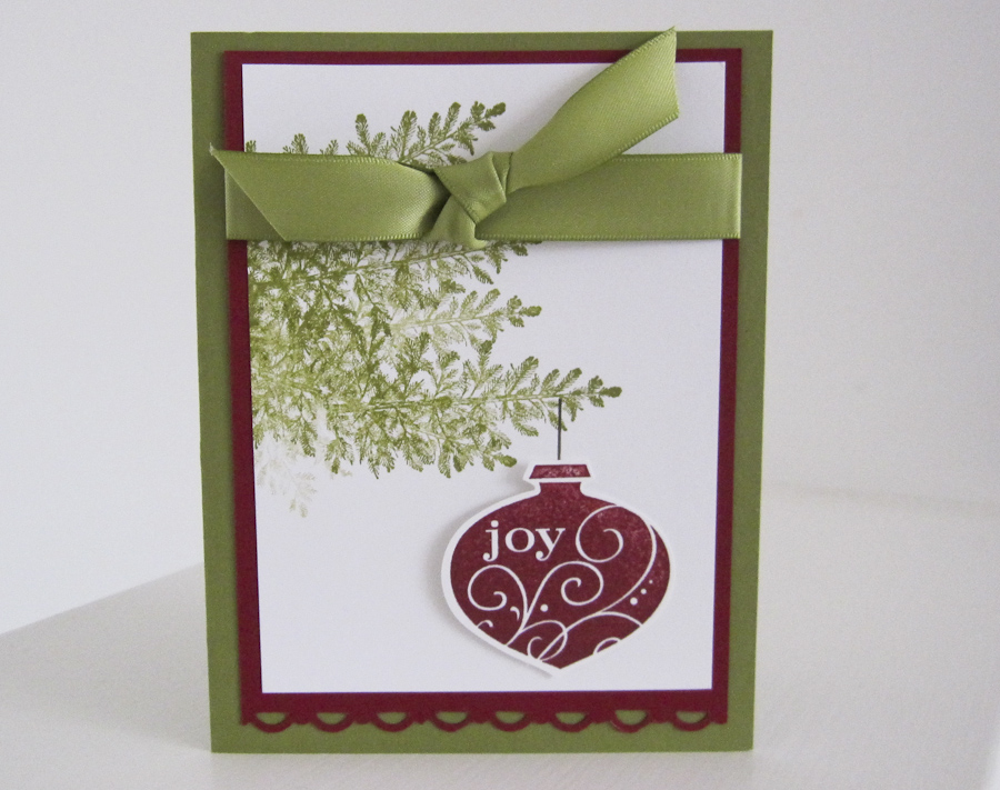 Stampin up christmas card sharing part ii