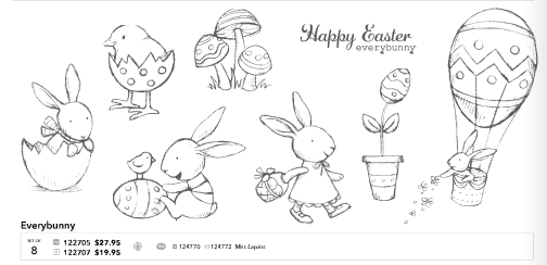 Stampin Up Everybunny Stamp Set – Easter Cards Stampin Up