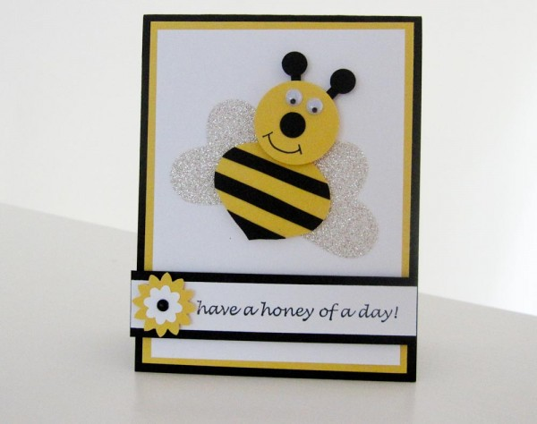 Stampin Up Happy Bee Day!