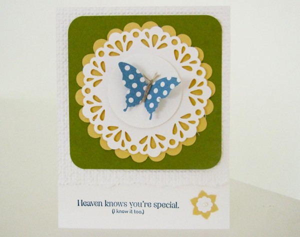 Stampin Up Elegant Butterfly Punch
