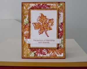 Stampin Up Gently Falling