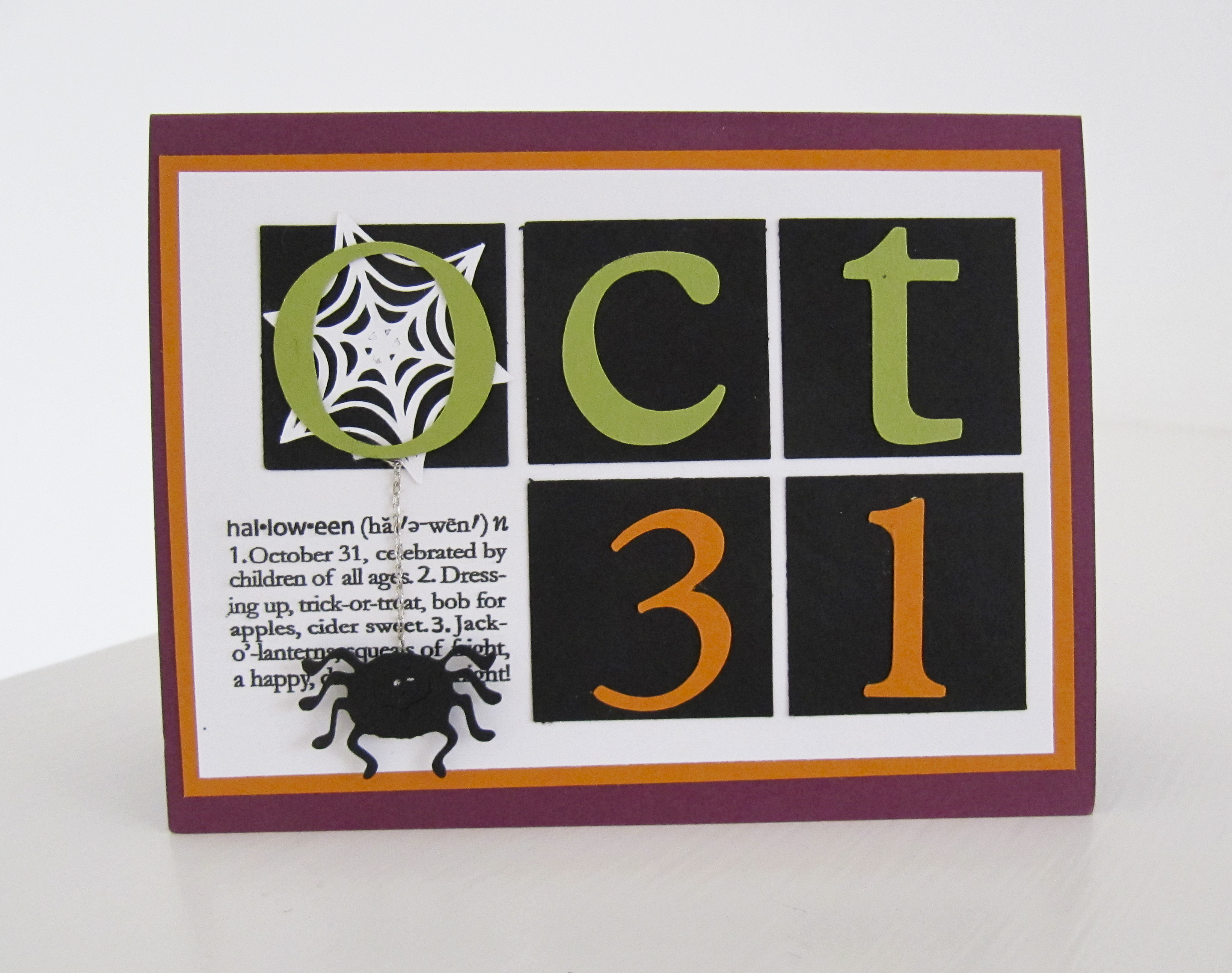 stampin up - halloween cards