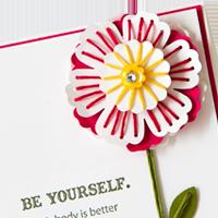 Stampin Up String_Flower