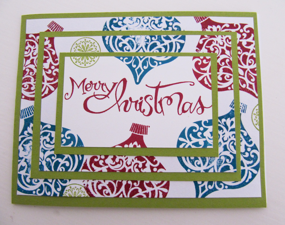 Christmas Card Ideas Stampin Up 2014 - Xmast 4