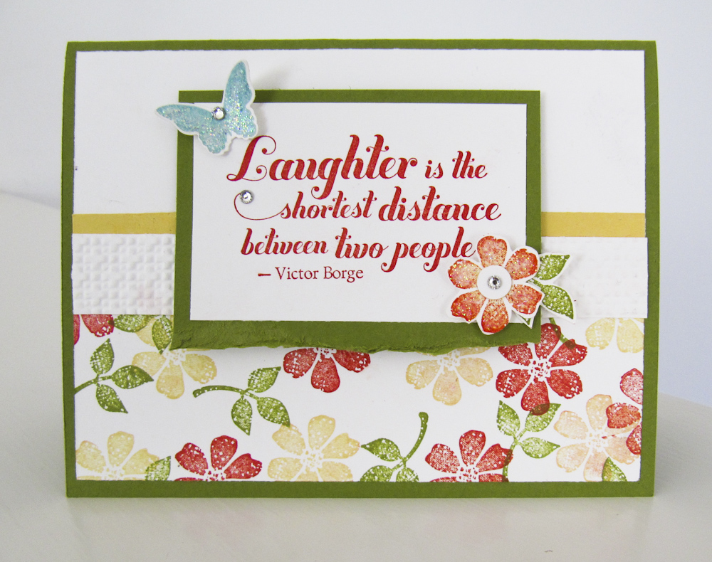 Stampin Up Bloomin Marvelous stamp set