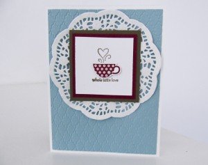 Stampin Up Patterned Occasions stamp set