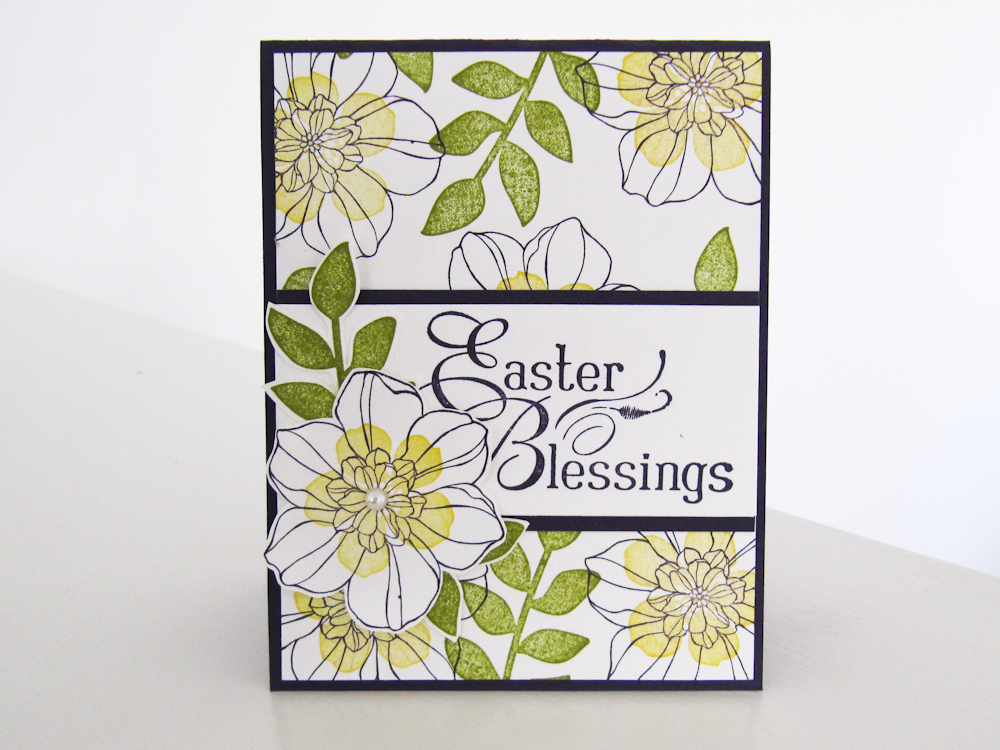 Stampin Up - Secret Garden - Easter Card - Video Tutorial