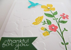 Stampin Up Wildflower Meadow