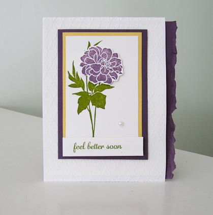 Stampin Up Fabulous Florets stamp set
