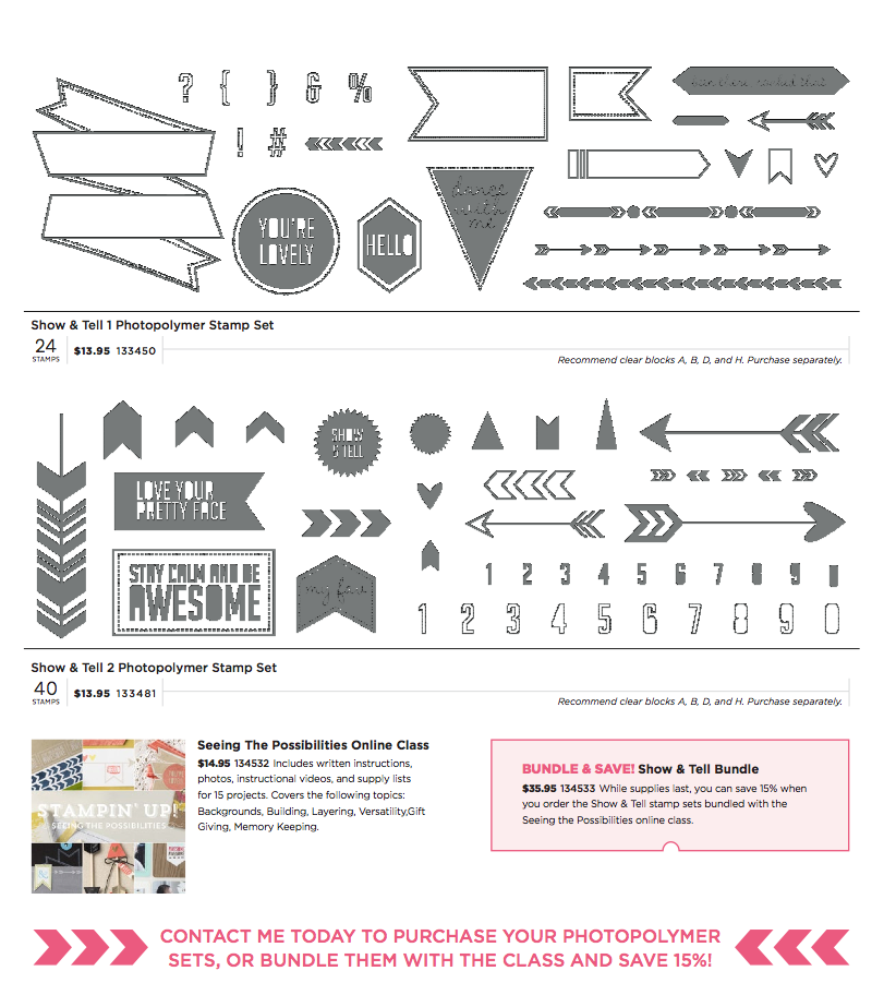 stampin up see the Possibilities