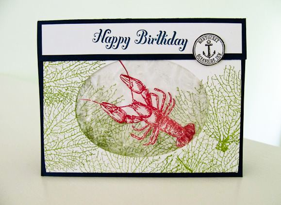 Stampin Up By The Tide Video Tutorial Post By Demonstrator