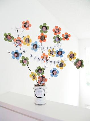 Stampin Up Flower Tree