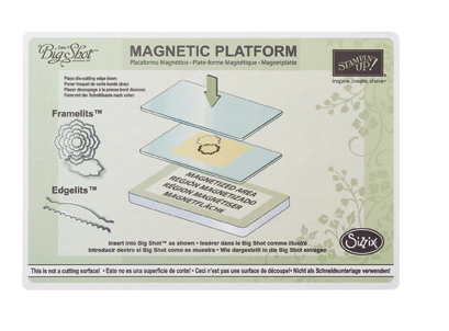 Stampin Up Magnetic Platform