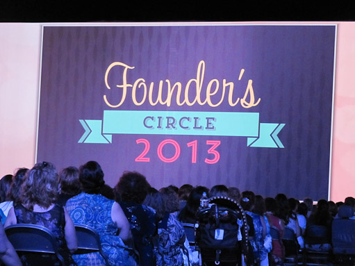Stampin Up Founders Circle 2013