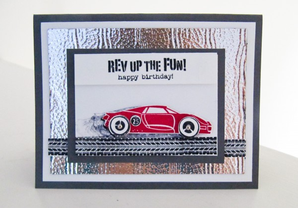 Stampin Up Rev Up The Fun Stamp Set
