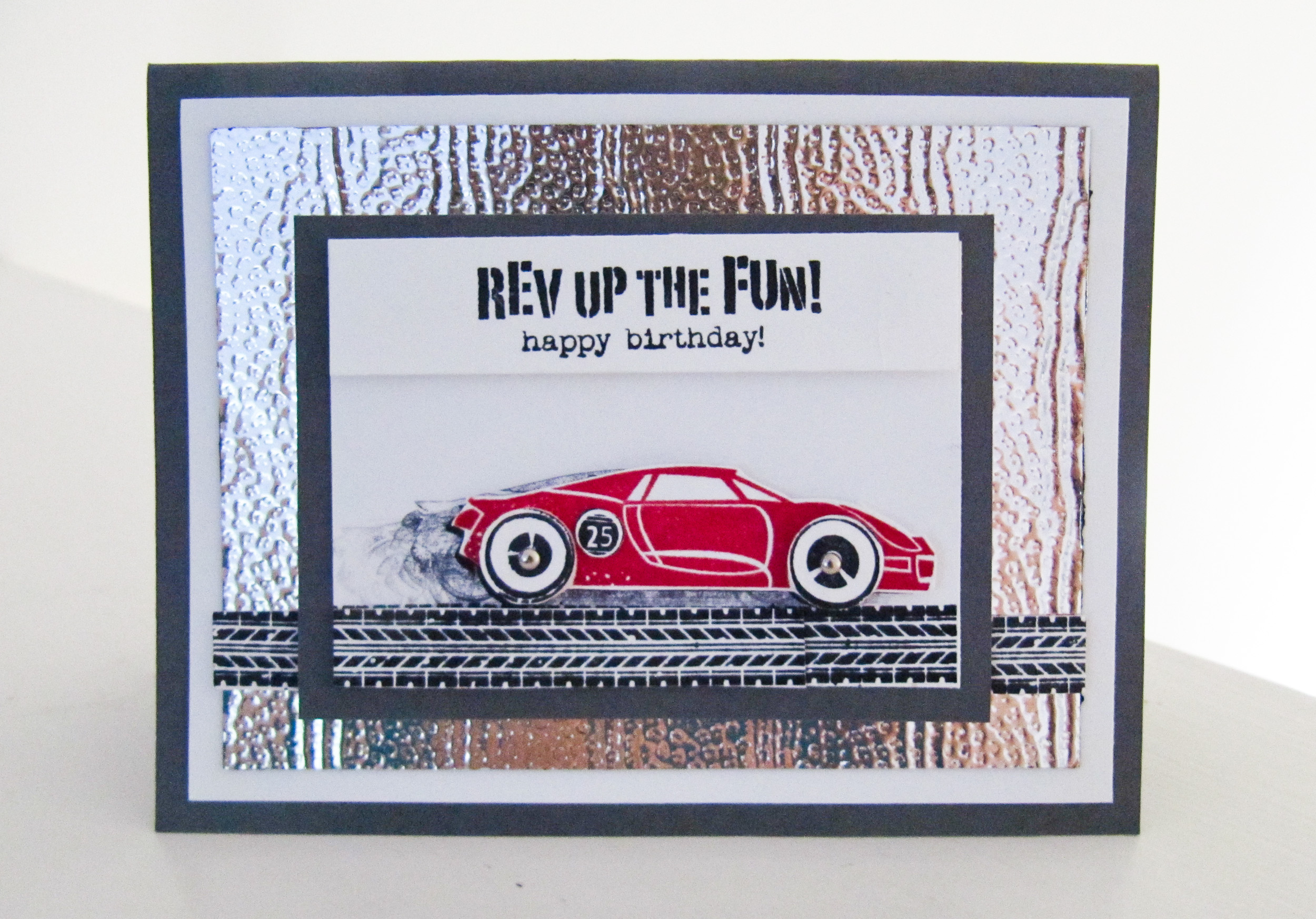 Stampin Up - Rev Up the Fun! - Post By Demonstrator Brandy Cox