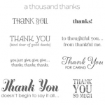 Stampin Up Lots of Thanks