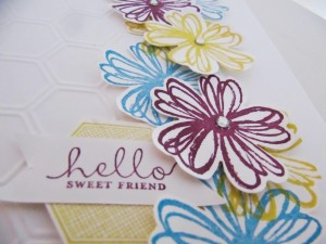 Stampin Up Flower Shop Stamp Set
