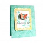 Stampin Up Papaya Collage stamp set