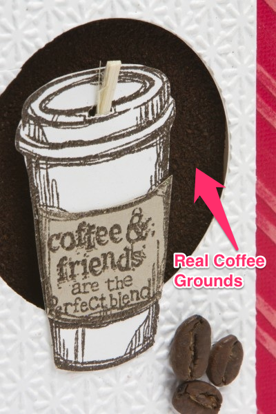 Stampin Up Coffee Cup Card