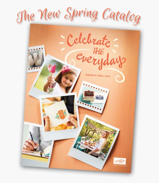 Stampin Up New 2014 Spring Catalog