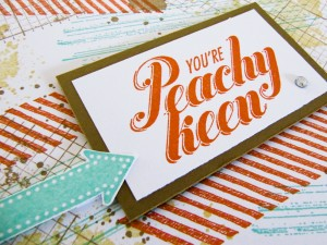 stampin up peach keen stamp set