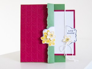 Stampin Up Petite Petals Stamp Set