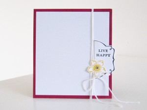 Stampin Up Petite Petals Pocket   Video Tutorial