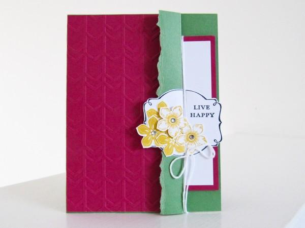 Stampin Up Petite Petals Stamp Set