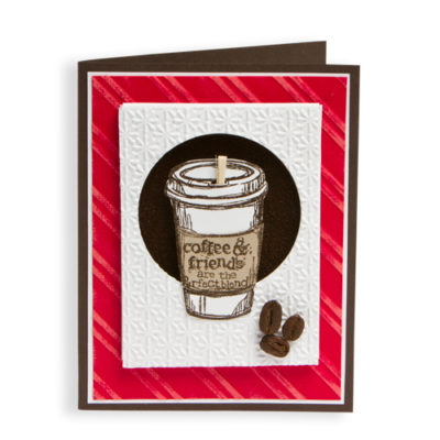 Coffee and Friends Card - using Stampin Up
