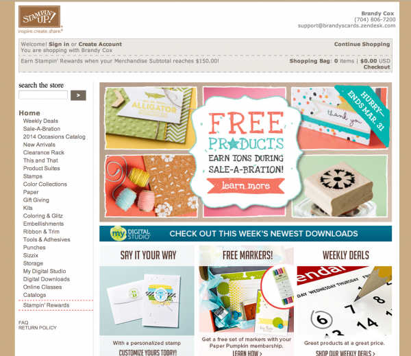 How-to-order-stampin-up-products