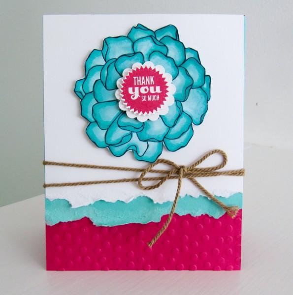 Stampin Up Blended Bloom Stamp Set - BrandysCards