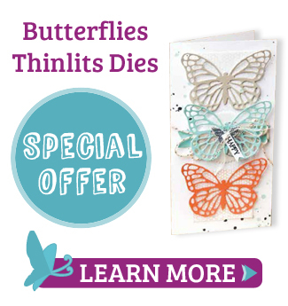 stampin up butterflies thinlit ad