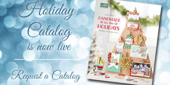 Stampin' Up! Holiday Catalog is now live