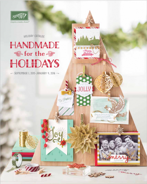 Stampin up holiday catalog is now live