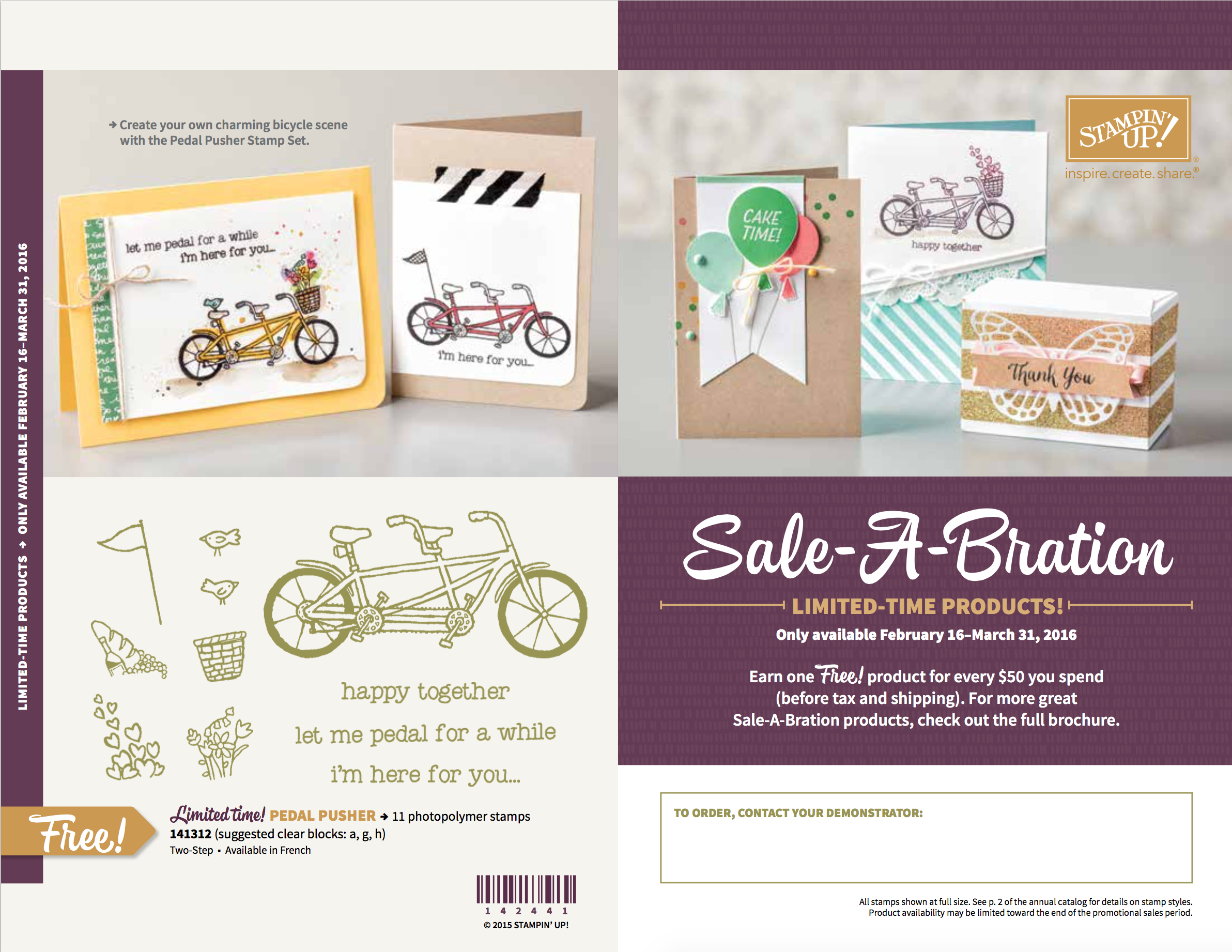 new stampin up sale a bration items