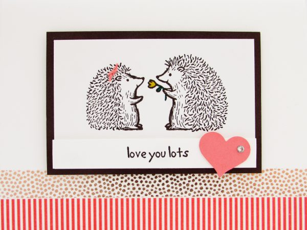 Stampin Up Love You Lots Hostess Stamp Set Post By Demonstrator Brandy Cox